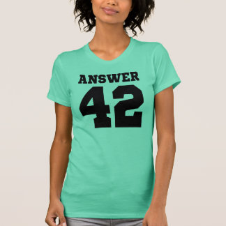 The Answer 42 T-Shirt