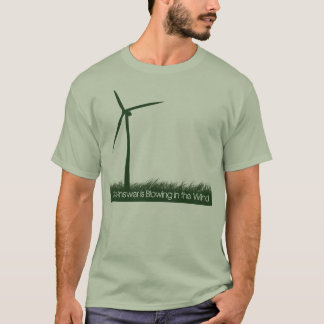 The answer is blowing in the wind T-Shirt