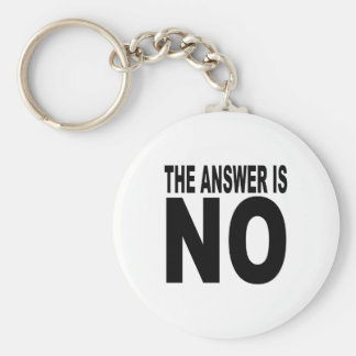 The answer is no keychain
