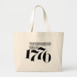 The Answer to 1984 is 1776 Bag
