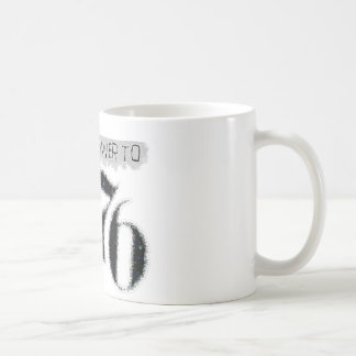The Answer to 1984 is 1776 Classic White Coffee Mug