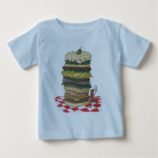 The Ant and the Big Sandwich Baby T-Shirt