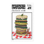 The Ant and the Big Sandwich Postage