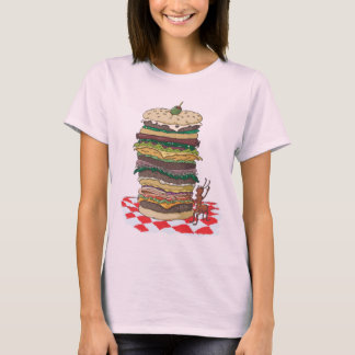 The Ant and the Big Sandwich T-Shirt