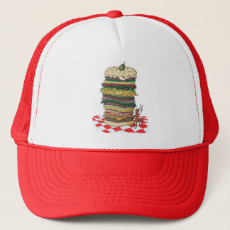 The Ant and the Big Sandwich Trucker Hat
