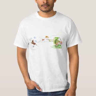 The Ant and the Grasshopper, Aesop's Fables T-shirts