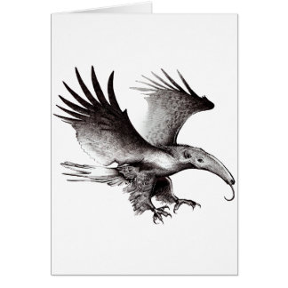 The Ant Eagle Greeting Card