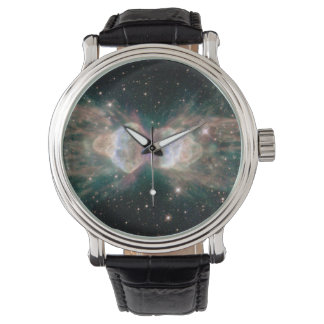 The Ant Nebula (Menzel 3)- Fiery Lobes Protrude Wrist Watch