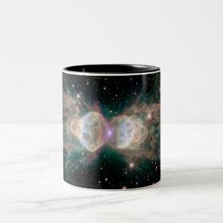 The Ant Nebula Two-Tone Coffee Mug