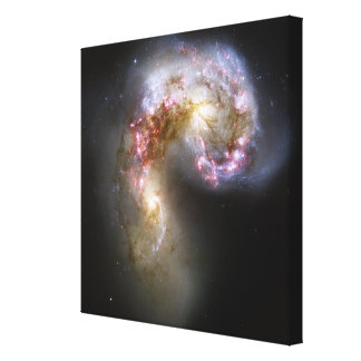The Antennae galaxies Canvas Print