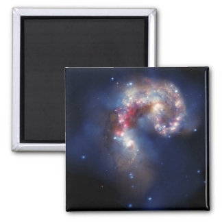 The Antennae Galaxies 2 Inch Square Magnet
