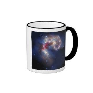 The Antennae Galaxies Ringer Coffee Mug