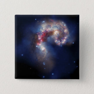 The Antennae Galaxies Pinback Button