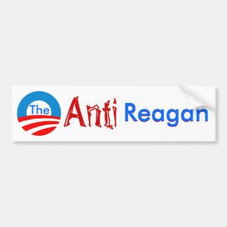 The Anti Regan bumper sticker Car Bumper Sticker