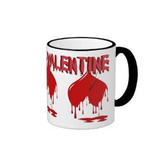 The Anti-Valentine ~4~ Ringer Coffee Mug