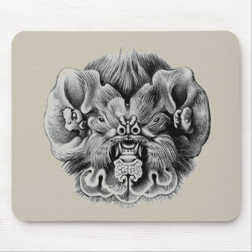 The Antillean Ghost-faced Bat Mouse Pad