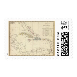 The Antilles or WestIndia Islands Stamps
