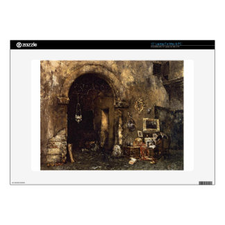 """The Antiquary Shop by William Merritt Chase Decals For 15"""" Laptops"""