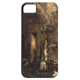 The Antiquary Shop by William Merritt Chase iPhone SE/5/5s Case