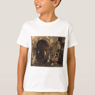The Antiquary Shop by William Merritt Chase T-Shirt