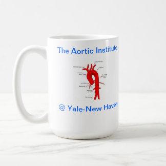 """The Aortic Institute"" YNHH Classic White Coffee Mug"