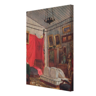 The Apartments of the Count of Mornay, rue de Vern Canvas Print