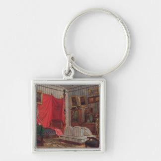 The Apartments of the Count of Mornay, rue de Vern Keychain