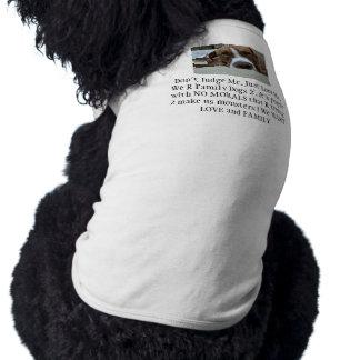 The APBTand Pit Mix Crew Doggie Tee