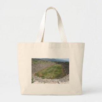 The Aphrodisias Stadium (From the West) Canvas Bag