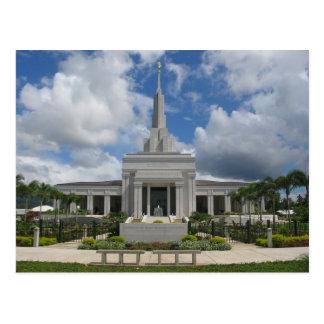 The Apia Samoa LDS Temple Postcard