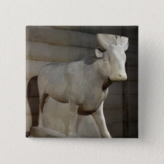 The Apis Bull, from the Serapeum, Memphis Pinback Button