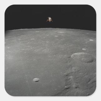 The Apollo 12 lunar module Intrepid Square Sticker