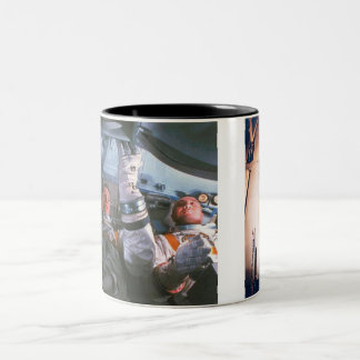 The Apollo 1 Disaster Two-Tone Coffee Mug