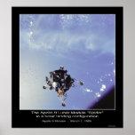 """The Apollo 9 Lunar Module """"Spider"""" March 7, 1969 Poster"""