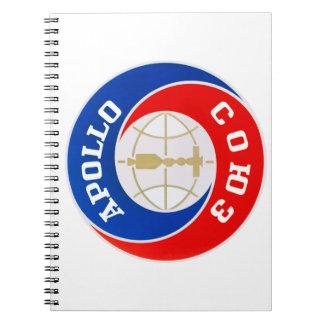 TheApollo–Soyuz  Mission Logo Spiral Notebooks