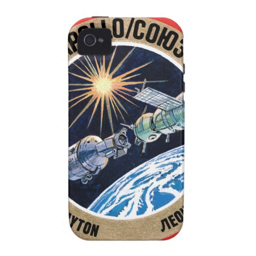 TheApollo–Soyuz Test Project(ASTP) iPhone 4 Case