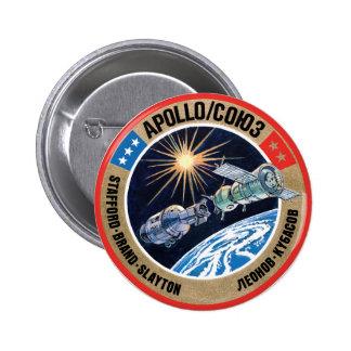 TheApollo–Soyuz Test Project(ASTP) Pinback Button