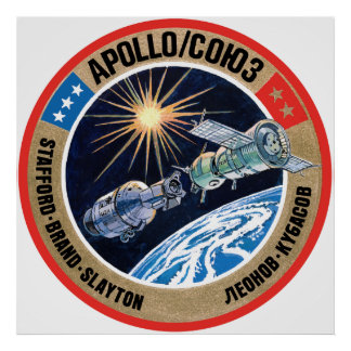 The Apollo–Soyuz Test Project (ASTP) Poster
