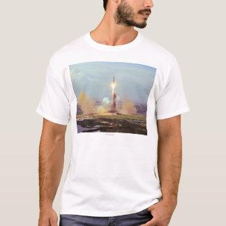 The Apollo Soyuz Test Project Saturn IB Launch T-Shirt