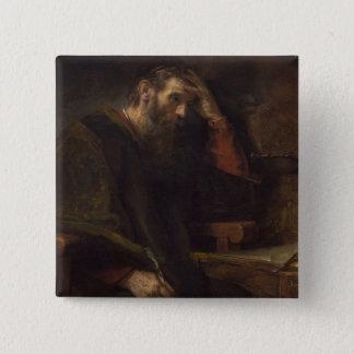 The Apostle Paul, c.1657 (oil on canvas) Button