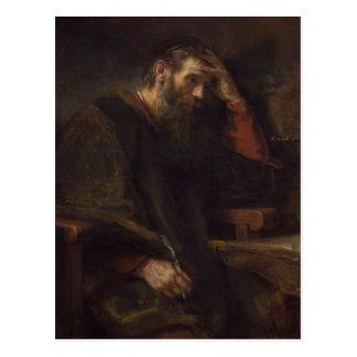 The Apostle Paul, c.1657 (oil on canvas) Postcard
