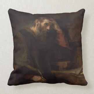 The Apostle Paul, c.1657 (oil on canvas) Throw Pillow