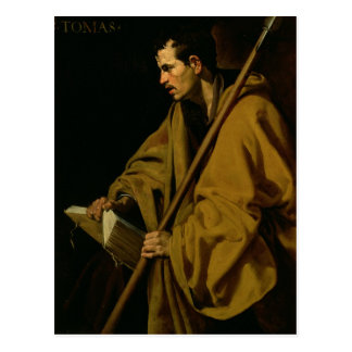 The Apostle St. Thomas, c.1619-20 Postcard