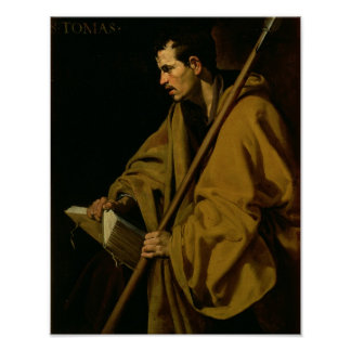 The Apostle St. Thomas, c.1619-20 Poster
