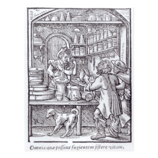 The Apothecary, published by Hartman Schopper Postcard