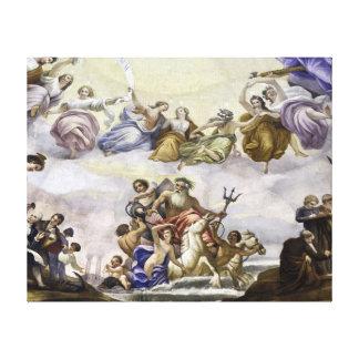 The Apotheosis of George Washington - Marine Canvas Print