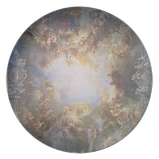 The Apotheosis of Hercules, from the ceiling of Th Dinner Plate