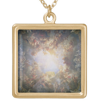 The Apotheosis of Hercules, from the ceiling of Th Personalized Necklace