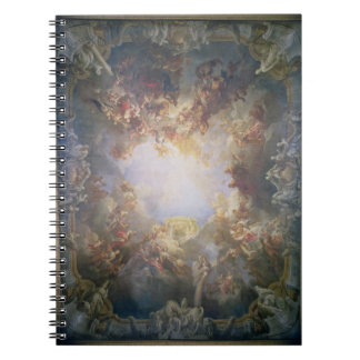 The Apotheosis of Hercules, from the ceiling of Th Notebook