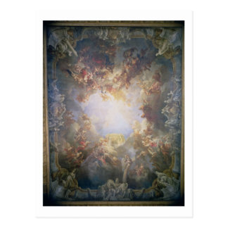 The Apotheosis of Hercules, from the ceiling of Th Postcard